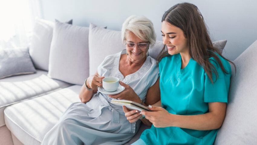 soin à domicile pour senior